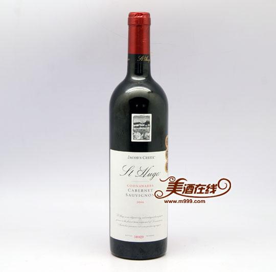 杰卡斯雨果库纳华拉赤霞珠干红葡萄酒(750ml)-美酒在线