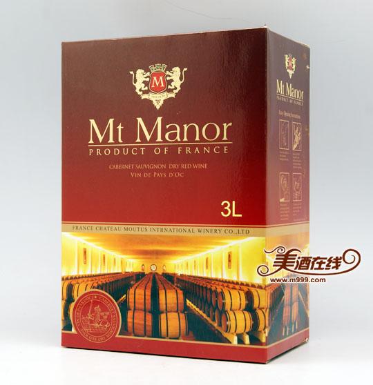 法国蒙图干红葡萄酒(3L)-美酒在线