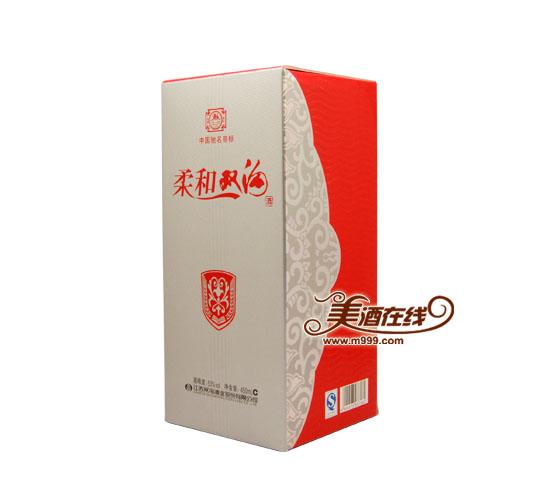 53度柔和双沟(银装)450ml-美酒在线