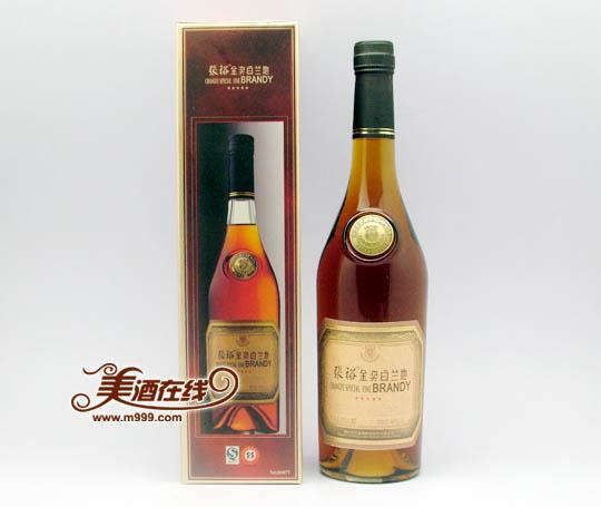张裕五星金奖白兰地700ml 张裕葡萄酒价格 美酒在线张裕产...