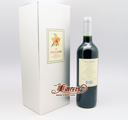 智利星得斯拉丁之星银标红葡萄酒(750ml)