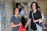 王君副总经理及学生家长