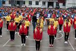 环江毛南族民族中学朝气蓬勃的学生
